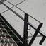 Detail, staircase, railings, cable rail
